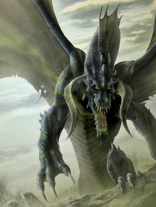 Famoso drago nero20 | Exogino | Il Misterioso Alieno JW22