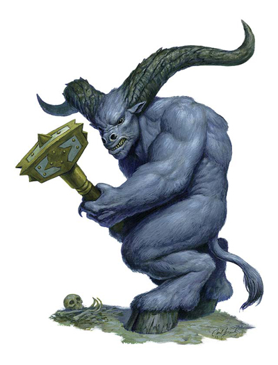 how to build a minotaur in pathfinder